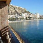 Вид с одного из балконов