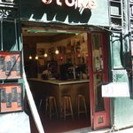 Bar stike entrance/front