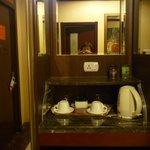 чайный столик в номере