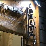 entrada del restaurante