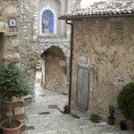 La Porta Reatina dall'interno