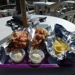 2 lobster rolls 36 $