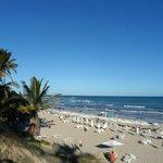 Vista praia