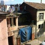 Вид из отеля направо) Батуми очень быстро ломают и строят
