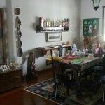 Sala de Jantar - Café da Manha na Mesa.
