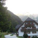 Blick über das Hotel