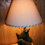 Bedside lamp - with bear