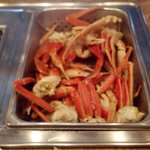 the Alaskan Snow Crabs...They were awesome & they kept that pan FULL... unlike some places.