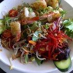 Sweet Chilli Prawn Salad - $12 lunch special menu