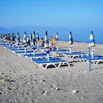 remote private beach