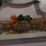mantis shrimp with chily and salt