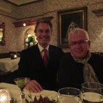 with TV producer Jacques Payette at l'Autre Saison