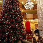 Christmas at the resort