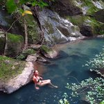 One of the 20+ natural and HOT river pools
