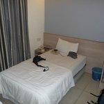 La mia stanza all'Hotel Iris Garden di Kuala Lumpur