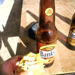 Fish sandwich and a Banks!