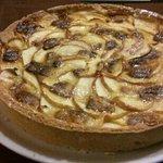 torta di mele e cioccolato bianco