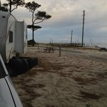 view of our trailer location