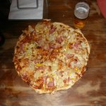 a mate's 'build your own' pizza