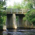 bridge over Cedar Creek