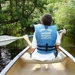 canoeing on Cedar Creek