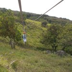 Ziplining - great for kids, nothing too high