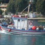 Spiros - Rose Garden's fishing boat