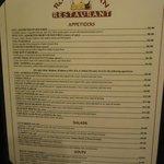Royal Indian Restaurant menu - 02-12-2013