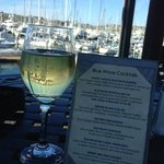 Chardonnay and Sailboats...what can be better? Blue Wave Bar & Grill  |  2051 Shelter Island Dr,