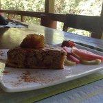Strawberry Mango Breakfast Bread