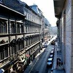 Blick vom Mini-Balkon
