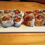 Spicy Tuna and Spicy Salmon Rolls (very delish!)