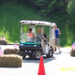 Golf Cart Obstacle Course
