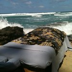 Beach Massage on a perfect day