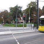 Tramstation Bürgerpark
