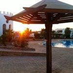 Pool area at ouzo 'o' clock ����