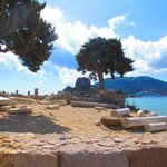 Agios Stefanos Beach, the Basilica