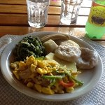 My perfect Birthday breakfast at Seastar...Ackee and Saltfish!