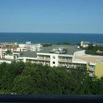la vista dal balcone