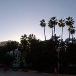 Malaga sunset