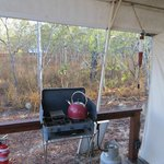 Eco tent cook stove