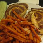 Dinner at Champions - Delicious Turkey Ruben