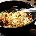 Wok tossed vegetable Noodles