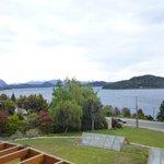 Vista desde la habitación al Lago Nahuel Huapi