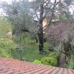 Vista jardín desde rellano primer piso