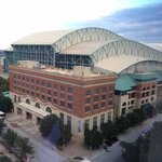 View of Minute Maid Park from my room