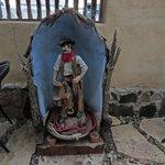 Saint Cowboy, local artist Martha Scott