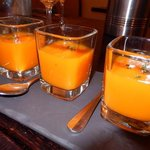 carrot puree shots