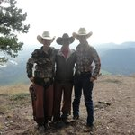 Wranglers Wacey, Lou and Taylor