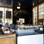 Interior Paysanne cafe